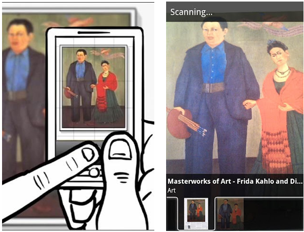 Google Goggles Paintings
