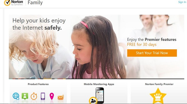 Android Internet Filtering App norton family