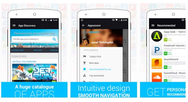 Appszoom mobile app search engine